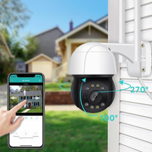 PTZ Wifi IP Camera Outdoor AI Human Auto Tracking Wireless Camera ONVIF Audio 2MP Smart Light Security CCTV