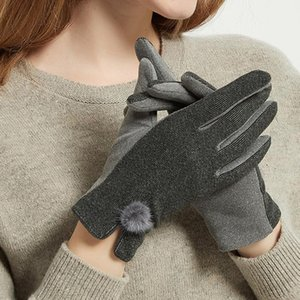 Women Winter Warm Gloves Touch Screen Winter Gloves Wrist Mittens Driving Ski Windproof Glove luvas guantes handschoenen