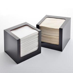 WSHYUFEI Fashional Acrylic Tissue Box, Tissue Storage Holder, Square Dispenser Tb006