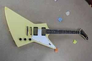 Free shipping Golden pickups electric guitar yellow guitar