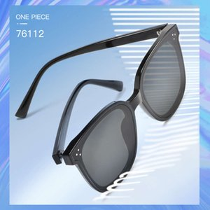 New anti ultraviolet GM men's and women's universal net red glasses fashion Polarized Sunglasses 76112