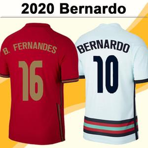 2021 Joao Felix Bernardo Pizzi Mens Soccer Jerseys Национальная команда B. Fernandes J. Moutinho Ruben Dias Ruben Neves Home Alet Футбольная рубашка