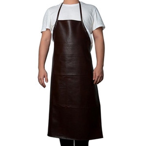 29 Leather Cooking Baking Aprons Waterproof Oil-Proof Kitchen Apron Restaurant Aprons For Women Home Sleeveless Apron