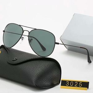 2020 Бренд дизайн поляризованные солнцезащитные очки мужчины женские пилотные солнцезащитные очки UV400 Очки очки металлические рамки Polaroid Lens с коробкой