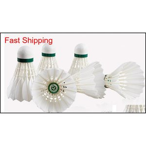 Hot Salechampion No.3 Badminton Shuttlecock Quality Guaranteed Shuttlecock High Quality Game Balls 12 Pieces 5 Doze qylfme yh_pack