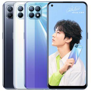 """Оригинал Оппо Рено 4 SE 5G Мобильный телефон 8GB RAM 128GB 256GB диск МТК 720 окта Ядро Android 6.43"""" Полный экран 48.0MP отпечатков пальцев ID сотового телефона"""