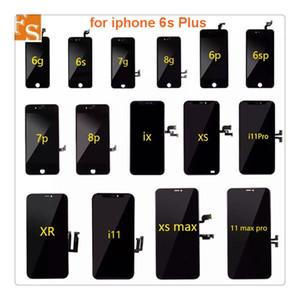LCD für iPhone 6 6S 7 8 Plus LCD-Display für iPhone 5 5s SE-Bildschirmmontage Digitizer mit 3D-Touch-Ersatz-LCD