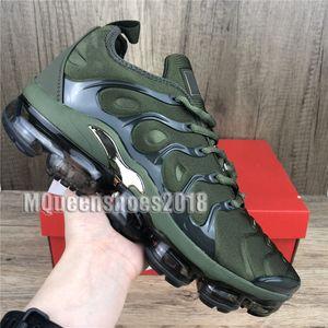 2021 Hommes Chaussures de course Athletic Formateurs Sole TN plus clair Olive Blanc Argent Des Chaussures Chaussures Tns Formateurs Triple Noir Hommes Chaussures