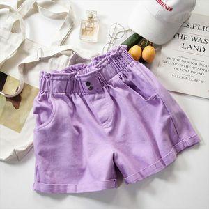 Jeans Shorts Women Summer Casual Short Pants New 2020 Fashion Korean Style All match Loose High Waist Hot Pants Woman