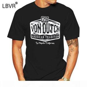 Von Van Dutch T-Shirt [29 American Tradition] Logo Rockabilly Tattoo Ink