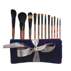 professianal Brushes High-end animal hair make up brush kits High-end gift box Caimu boutique makeup brush set 12pcs