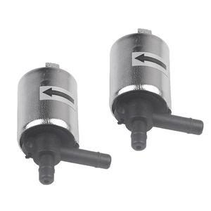 Válvula de prata reposição de água Air Gas Normalmente fechado 2 Pieces DC 12V solenóide elétrica Válvula Para
