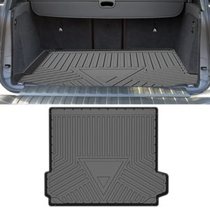 Para BMW X5 F15 2013-2018 CARGO DE CARGO CARGO ALL-Tiempo TPE Transportes antideslizantes Transportes Impermeable Tray Bandera Alfombra Accesorios interiores