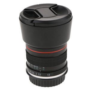 85mm F / 1.8 Dikey Lens 1D 1DX 5D 7D 70D T3, T5 T4i Dijital Kamera