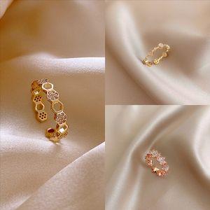 2Ft0s nail ring rings Braid rings classic luxury designer jewelry Never gold designer Titanium Cut swim swim ring steel Gold-plated women