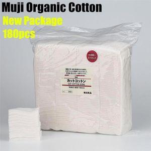 Atomizador Pad Naturaleza Rda Rda algodón orgánico japonesa Muji Reconstruible 180pcs yhshop2010 bbydy Rba sin blanquear Atty Para mecha de algodón Clon