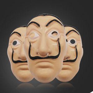Salvador Dali Mask Full Face Mask La Casa De Papel Face Mask Costume Movie Masks Halloween Costume Cosplay Masks Free Shipping NWE1421