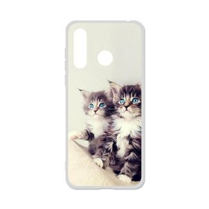 Cheap Fitted Cases Phone Case For Doogee 20 Cases Silicon Soft TPU Cute Cat Painted Back Coque For Doogee N2 N10 X30