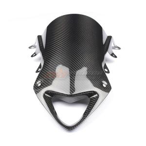 Deflectores de viento de la motocicleta Wind Shield Windshield Fibra de carbono 100% sarga para BMW S1000RR 2009 -2014