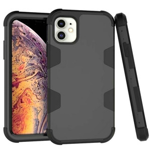 Luxus-Telefon-Case-COQUE-iPhone 12 pro maximal-Fall 3 in 1 abnehmbarer Anti-klopfter schwerer diensthabender robuster Rüstung Hard Cover iPhone 11 Pro max 8 Plus