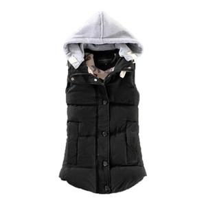 2020 Spring and Autumn New Women's Cotton-padded Vest Winter Korean-style Cotton Vest Women's Short Waistcoat