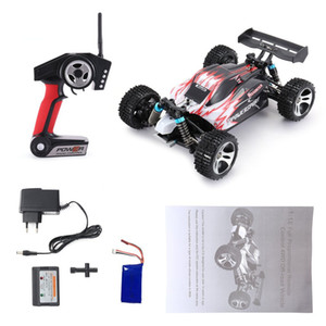 For WLtoys A959 2.4GHz 1:18 Full Proportional Remote Control 4WD Vehicle 45KM h High Speed Electric RTR Off-road Buggy RC Car