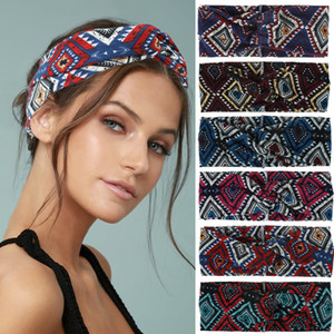 2020 Hot Sale Print Headband for Women and Men New 6 Colors Headbands Hair Bands Scarf Accessories Gifts Dropshipping