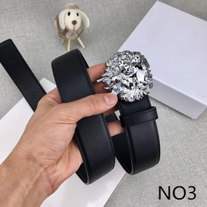 Lion Designer Belts Luxury Belts Mens Women Stylish Brand Belt Casual Lion Smooth Buckle Belt Width about 3.8cm Highly Quality with Boxs