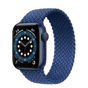 새로운 나일론 탄성 스트랩 Apple Watch 6 SE 밴드 iWatch Serie 6 5 4 3 벨트 팔찌 꼰 솔로 루프