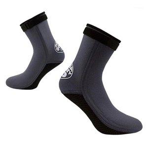 1 Pair Diving Socks 3mm Neoprene Water Shoes Anti-slip Warm Beach Booties Snorkeling for Men Women1