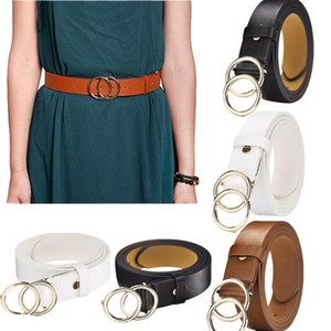 Womens Ladies Classic Skinny Pin Buckle Faux Leather Belt Dress Waistband Ladies PU Fashion Belt