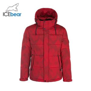 IceBear Нового Мужская Зимняя куртка моды пальто Человек ветрозащитный Утепленные пальто MWD19908I 201110
