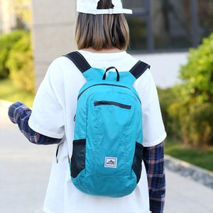 Fashion Backpack Wear Light Sports Outdoor Backpack Light Simple Fold Mens and womens hiking bag mochila feminina 45
