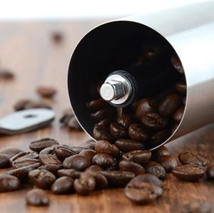 Portátil moedor de café de aço inoxidável Mini manual Handmade Coffee Bean Moinho Cozinha Ferramenta Crocus Grinders FWD2389