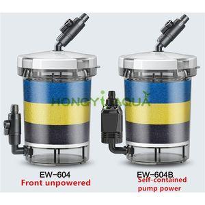 Sunsun Silent Filter Bucket Peixe Tanque Filtro Aquário Suprimentos Durável HW-604 HW-604B EW-604 EW-604B Y200917