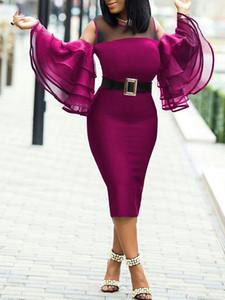 beiläufige Kleider der Damen Frauen Designer Kleidung 2020 Sommer-neue Kleid WomenSexy Tight Bag-Hüfte-Rock Frauen Kleider