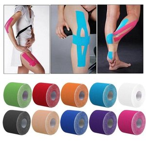 1 Roll 5M*5cm Kinesiology Elastic Tape Roll Sports Physio Muscle Strain Support