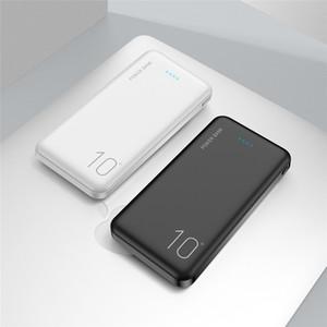 울트라 얇은 전원 은행 10000mAh 휴대용 충전 외부 배터리 충전기 iPhone에 대 한 PowerBank 삼성 Xiaomi Huawei