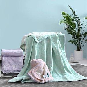 Yarn-dyed Jacquard Bath Towel Cotton Cotton Baby Blanket Multi-layer Gauze Bath Towels Children Adult Towel Quilt Kids Blanket