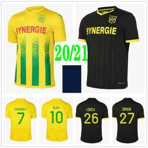 2020 2021 FC Nantes Jerseys de fútbol Simon Louza A Toure Blas Coco Coulibaly Custom 20 21 Home Alewing Kids Adult Hombres Camisetas de fútbol