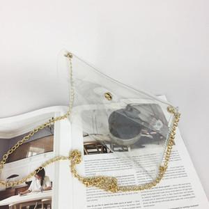 Laser Transparent Pvc Shoulder Bags In Women's Totes Handbag Messenger Bag Fashion Women Transparent Bag sac a main