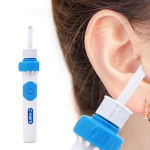 Orelha Dispositivo Cordless elétrica Cuidado Seguro Vibration indolor Vacuum Cleaner Ear Remover espiral Ear-Cleaning Dig pick cera de ouvido