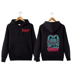 Slipknot Banda de Rock Hoodie Hop Rock Hoodie Sweatershirt Slipknot Hip Hip Streetwear Band Sweetshirt DDXHD