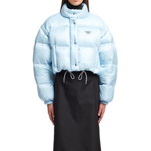 Jacket 20FW metal Triângulo para baixo casaco destacável mangas Vest Zippers Casal Expedition Hem cordão Outwear inverno quente HFHLYRF067