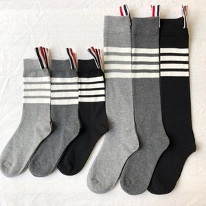 High Quality Designer Socks Mens Womens TB Four Bars Sports Socks Outdoor Short Tube Sock Quick-Drying Running Socks Fashion Letters Cotton