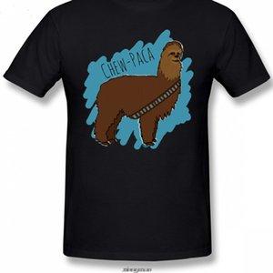 Chewbacca Camiseta Chewbacca Alpaca T Shirt Homens 6XL Camiseta Impressionante Impressionante 100 Manga Curta Classic Tshirt Esporte Com Capuz Hoodie