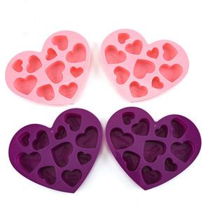 Silikon Schokoladenformen Herzform Englische Buchstaben Kuchen Schokoladenform Silikon Eisschale Gelee Formen Seifenform CCA3114