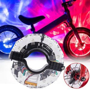 Bumper wheel lamp child balance car ski cart small desk lamp USB drum charging bicycle accessories 35dc26