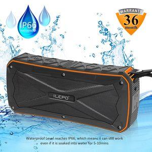 IP65 للماء سماعات بلوتوث مع 4500mAh المزدوج 8W الناتج بنك الطاقة مكبر للصوت وظيفة رئيس المحمولة اللاسلكية مع حزمة البيع بالتجزئة