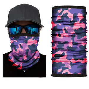 Winter outdoor riding custom magic mask printed logo head cover thickened windproof warm antifreeze Face Scarf